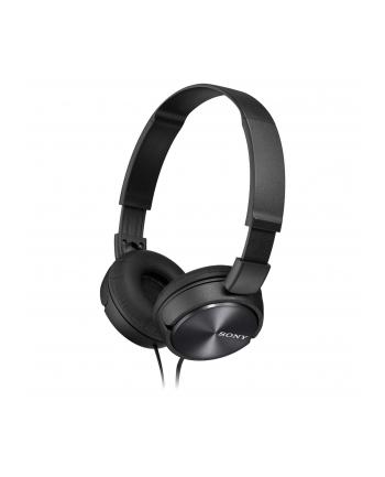 Słuchawki nauszne zamknięte składane, czarne SONY MDRZX310B.AE