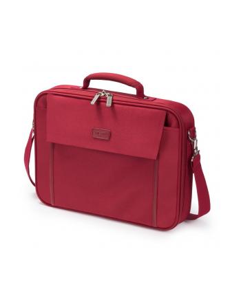 Dicota Multi BASE 15 - 17.3 Red czerwona torba na notebook
