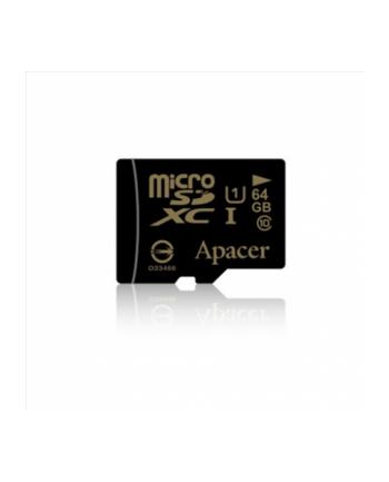 PAMIĘĆ APACER MICRO SDXC 64 GB CLASS 10 UHS-1 +ADAPTER SD