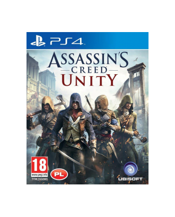 UBISOFT Gra ASSASSIN'S CREED UNITY (PS4)