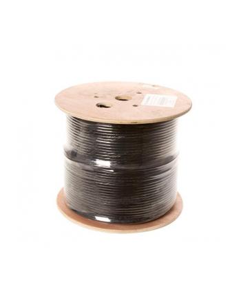 LINKBASIC Kabel instalacyjny FTP/STP kat. 5e drut szpula 305m 100% CU