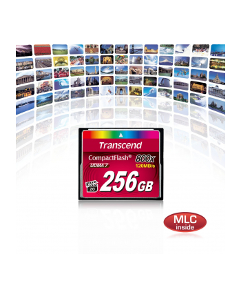 Transcend memory card 128GB Compact Flash 800x