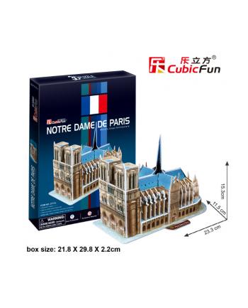 PUZZLE 3D Katedra Notere Dame 40 el.