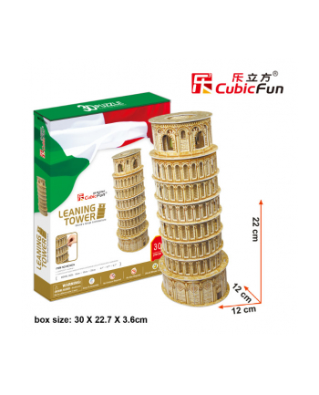 PUZZLE 3D Krzywa Wieża w Pizie