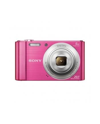 SONY DSCW810P Cyber-Shot 20.1MPix, 6x zoom - różowy