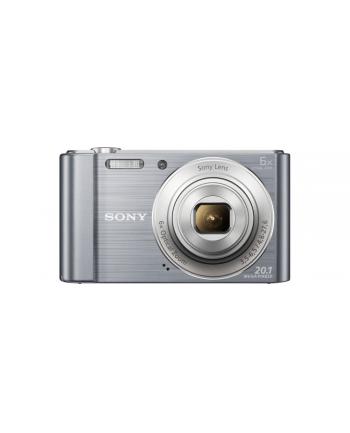 SONY DSCW810S Cyber-Shot 20.1MPix, 6x zoom - srebrny