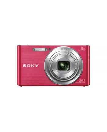 SONY DSCW830P Cyber-Shot 20.1MPix, 8x zoom - różowy