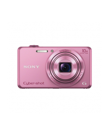 SONY DSCWX220P Cyber-Shot 18.2MPix, 10x zoom, Wi-Fi - różowy
