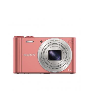 SONY DSCWX350P Cyber-Shot 18.2MPix, 20x zoom, Wi-Fi - różowy