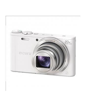 SONY DSCWX350W Cyber-Shot 18.2MPix, 20x zoom, Wi-Fi - biały