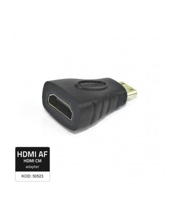 Qoltec Przejściówka HDMI A żeńska/ Mini HDMI męska