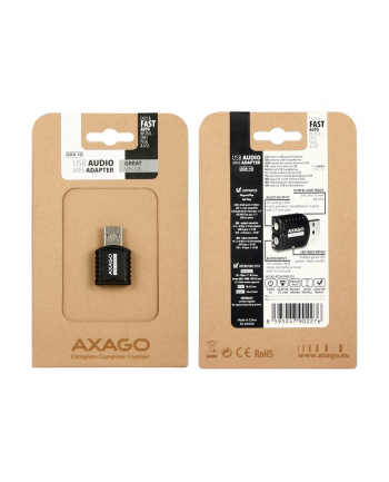 KOUWELL AXAGO - ADA-10 USB2.0 - stereo audio MINI adapter