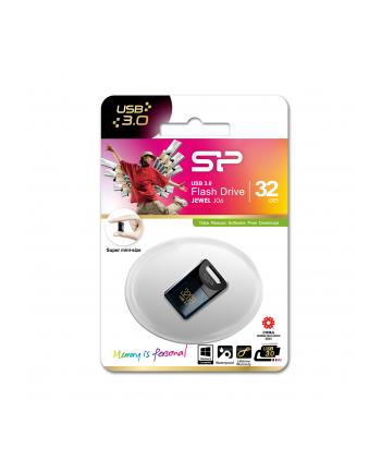 SILICON POWER 32GB, USB 3.0 FlASH DRIVE, Jewel J06, Deep Blue