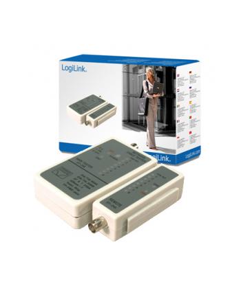 Logilink WZ0011, Cable Tester RJ11, RJ12, RJ45 +BNC
