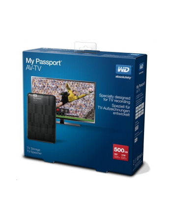 WESTERN DIGITAL Dysk WD My Passport AV-TV 500GB USB 3.0