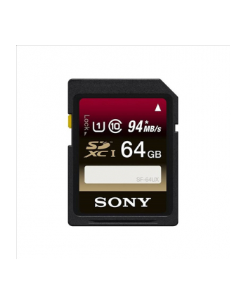 Sony 64GB Class 10 UHS-I SDHC 94MB/s Memory Card