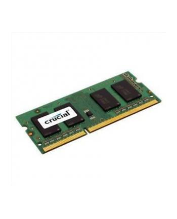 Crucial 2GB SODIMM, 204-pin, PC3-12800, CL=11, Unbuffered, NON-ECC, DDR3-1600, 1.35V
