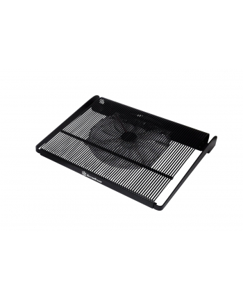 Silverstone notebook cooler ''Noble Breeze'' up to 15'' nb, 1x200 mm black fan