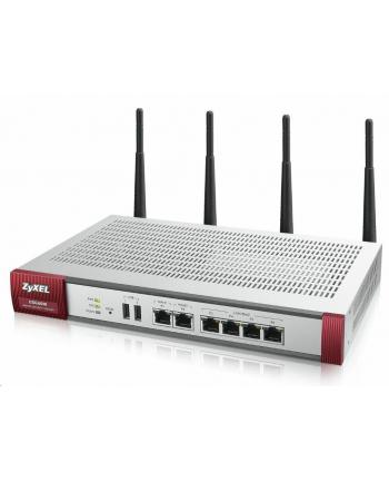 ZyXEL USG60W Firewall 6xGbE 20VPN 1y IDP AV AS CF
