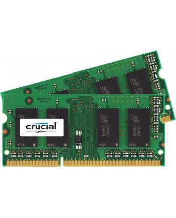 Crucial 16GB kit (8GBx2) DDR3 1600MHz CL11 SODIMM 1.35V/1.5V