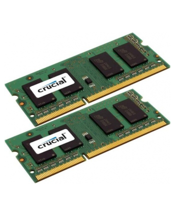 Crucial 4GB kit (2GBx2) DDR3 1600MHz CL11 SODIMM 1.35V/1.5V
