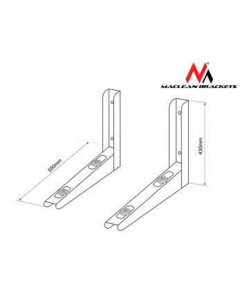 Maclean Uchwyt wspornik MC-624 do klimatyzatora 200kg