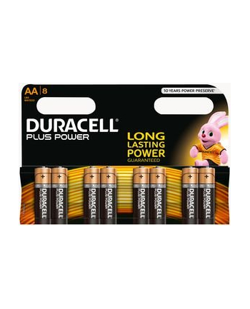 Duracell PLUS POWER AA 8 SZT