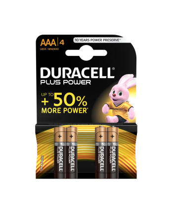 Duracell PLUS POWER AAA 4 SZT