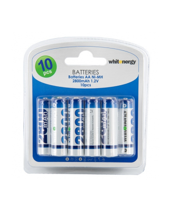 Whitenergy WE Akumulatory 10xAA 2800mAh