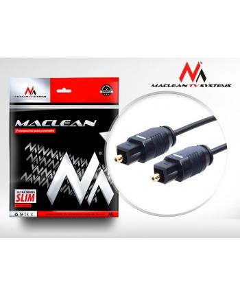 Maclean Przewód optyczny Toslink SLIM 5m MCTV-755