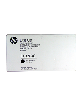 HEWLETT PACKARD - SUP HP 653X Black LJ Toner Cart, CF320X - CONTRACT