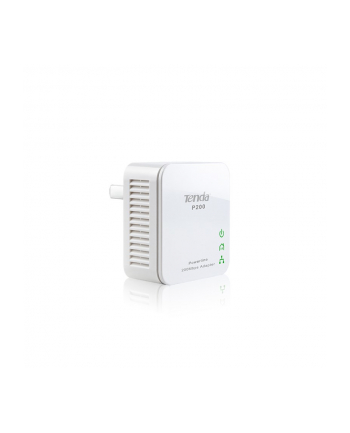 Tenda P200 200Mbps Mini Powerline Adapter, Twin Pack