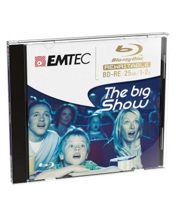 Płyta Blu ray BD-RE wielokrotnego zapisu Emtec [25 GB  2X  grube pudełko]