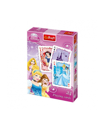 TREFL Karty 24 Listki Princess