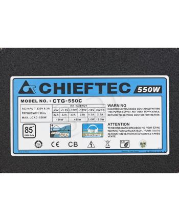 ZASILACZ CHIEFTEC CTG-550C (550W) MODULA 80+ BRONZE