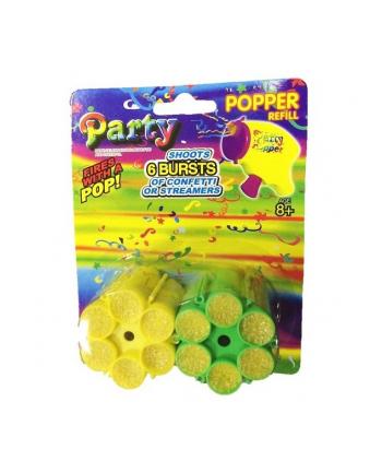 MINI POPPER 2 magazynki konfetti