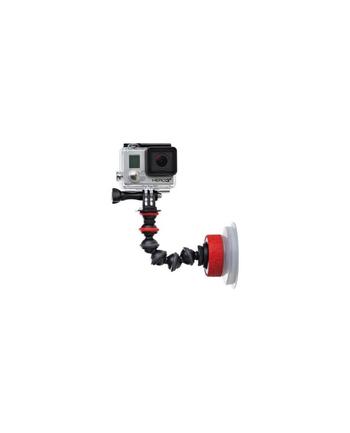 Joby Uchwyt do kamer video Suction Cup & GorillaPod Arm™ Czarny/Czerwony