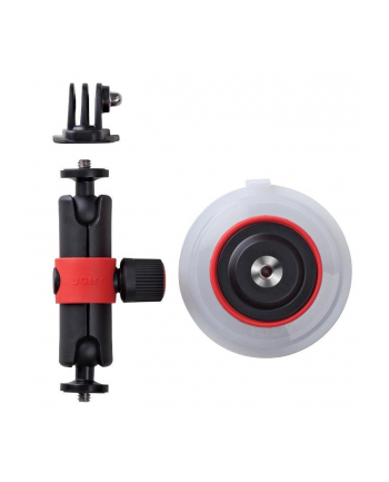Joby Uchwyt do kamer video Suction Cup & Locking Arm™ Czarny/Czerwony
