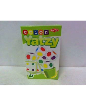 TACTIC Gra Kolorowe Yatzy, podróżna