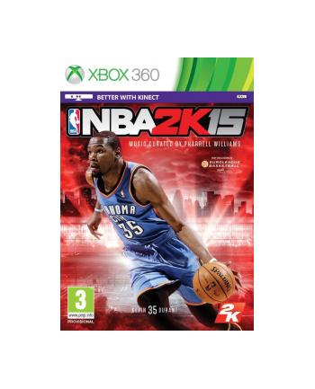 Gra Xbox 360 NBA 2K15