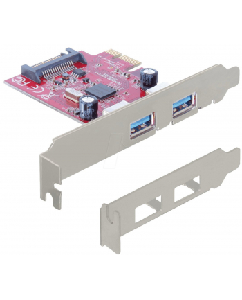 DELOCK KARTA PCI EXPRESS> 2XUSB 3.0