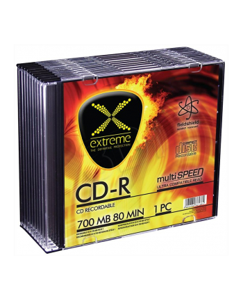 EXTREME CD-R  700MB/80MIN SLIM 10SZT 52X