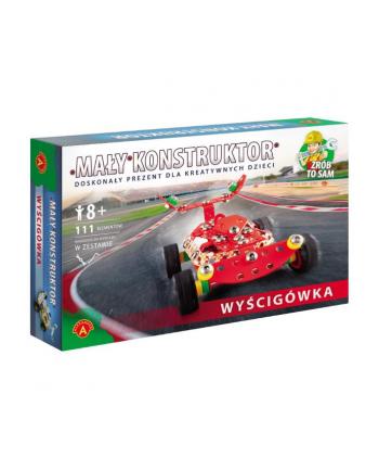 ALEXANDER Mały konstruktor Wyścigówka