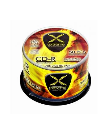EXTREME CD-R  700MB/80MIN CAKE 50SZT 52X