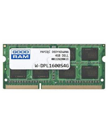GOODRAM DED.NB W-DPL1600S4G 4GB 1600MHz DDR3