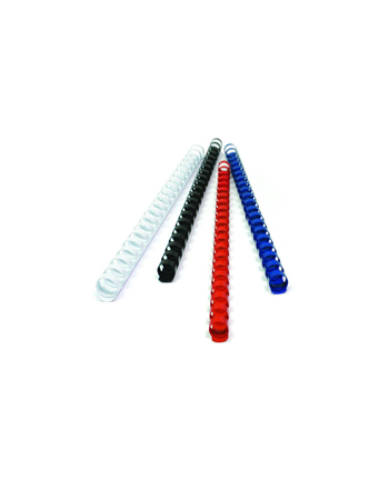 Fellowes Grzbiet plastikowy okrągły 8mm niebieski, 100 szt.