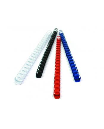 Fellowes Grzbiet plastikowy okrągły 10mm czarny, 100 szt.