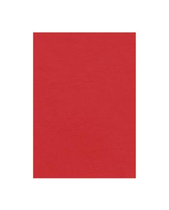 Fellowes Okładki skóropodobne DELTA A4, czerwone - FSC, 100 szt.