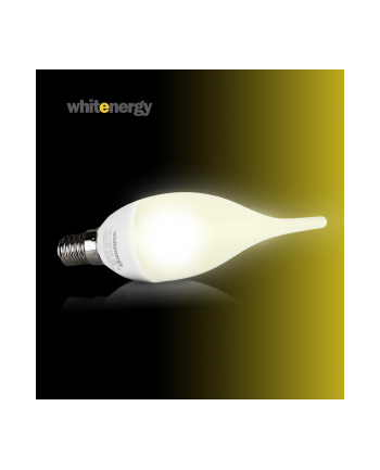 Whitenergy żarówka LED | E14 | 3 SMD 2835 | 3W | 100V-250V | mleczne | C30L