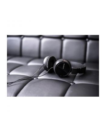 Sony Słuchawki nauszne składane ZX , czarne AP ( z mikrofonem)